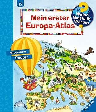 Cover für Mein erster Europa-Atlas