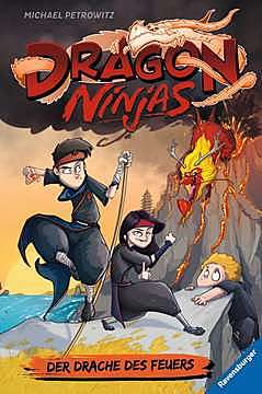 Cover für Dragon Ninjas, Bd. 2: Der Drache des Feuers