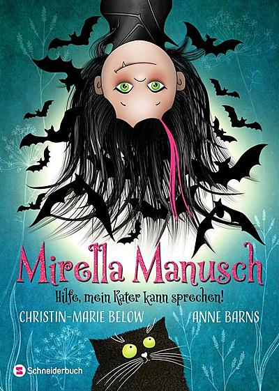 Cover für Mirella Manusch - Hilfe, mein Kater kann sprechen!