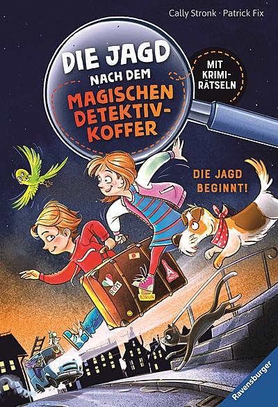 Cover für Die Jagd nach dem magischen Detektivkoffer, Band 1: Die Jagd beginnt!