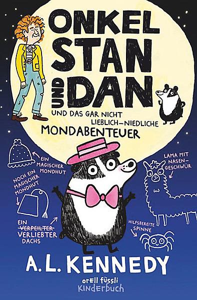 Cover für Onkel Stan und Dan und das gar nicht lieblich-niedliche Mondabenteuer