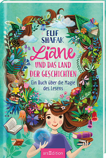 Cover für Liane und das Land der Geschichten
