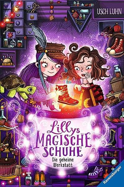 Cover für Lillys magische Schuhe: Die geheime Werkstatt