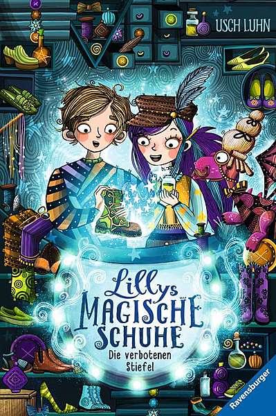Cover für Lillys magische Schuhe: Die verbotenen Stiefel