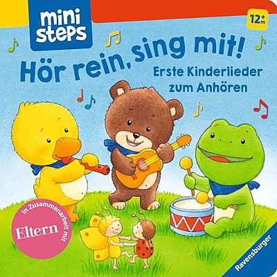 Cover für Hör rein, sing mit!