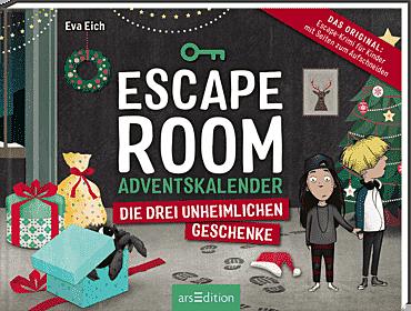 Cover für Escape Room. Die drei unheimlichen Geschenke