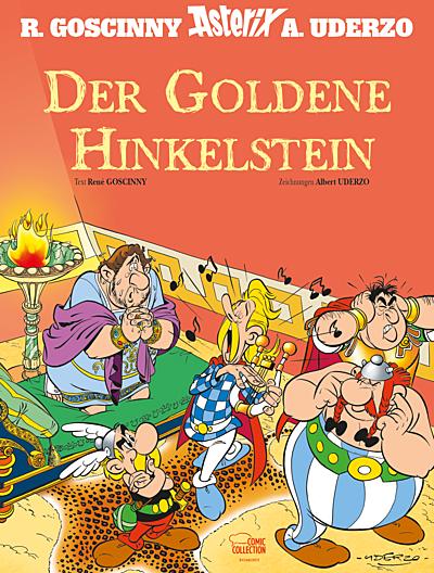 Cover für Asterix - Der Goldene Hinkelstein