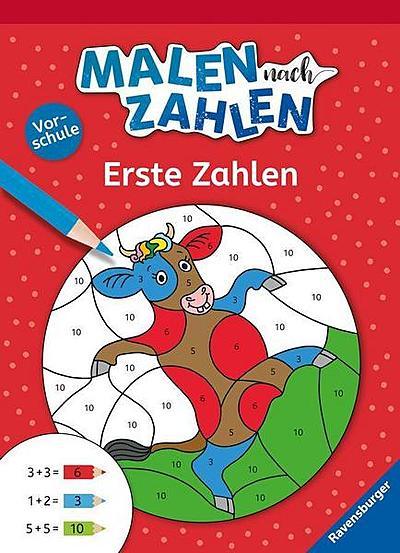 Cover für Malen nach Zahlen, Vorschule: Erste Zahlen