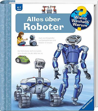 Cover für Alles über Roboter (Wieso? Weshalb? Warum?)
