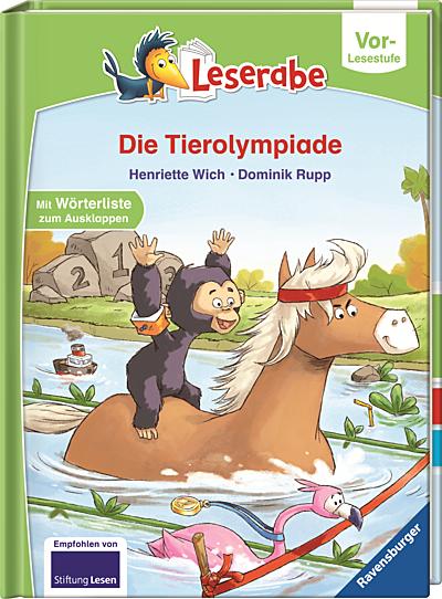 Cover für Leserabe, Vorschulstufe – Die Tierolympiade