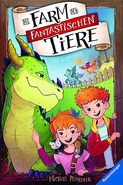 Cover für Die Farm der fantastischen Tiere, Band 1: Voll angekokelt!