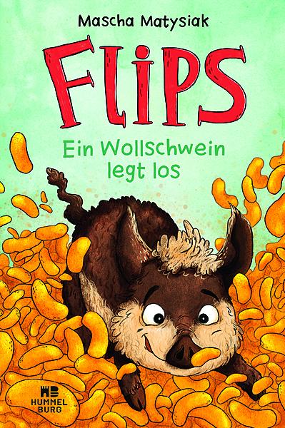 Cover für Flips - Ein Wollschwein legt los