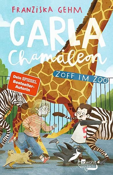 Cover für Carla Chamäleon: Zoff im Zoo