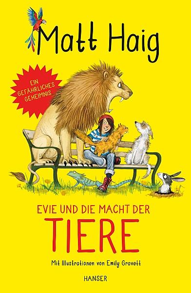 Cover für Evie und die Macht der Tiere