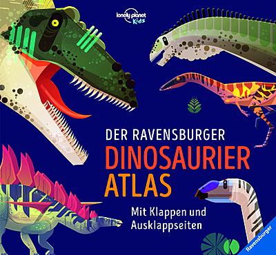 Cover für Der Ravensburger Dinosaurier-Atlas