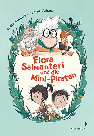 Cover für Flora Salmanteri und die Mini-Piraten