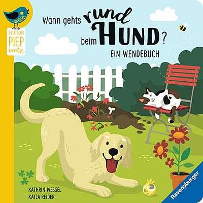Cover für Wann gehts rund beim Hund? - Wann macht die Katz Rabatz?