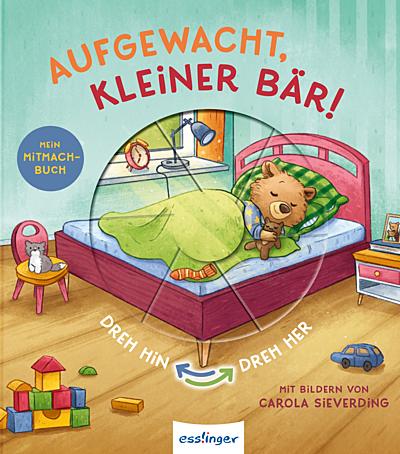 Cover für Aufgewacht, kleiner Bär!