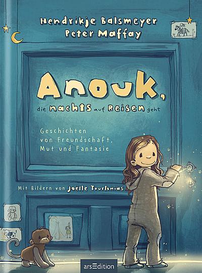 Cover für Anouk, die nachts auf Reisen geht