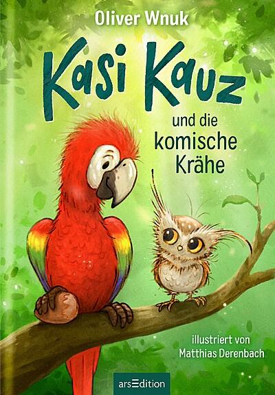 Cover für Kasi Kauz und die komische Krähe