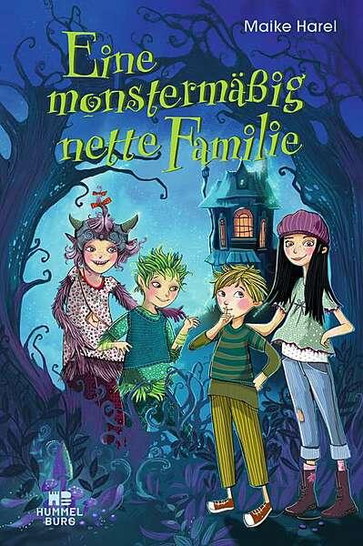 Cover für Eine monstermäßig nette Familie